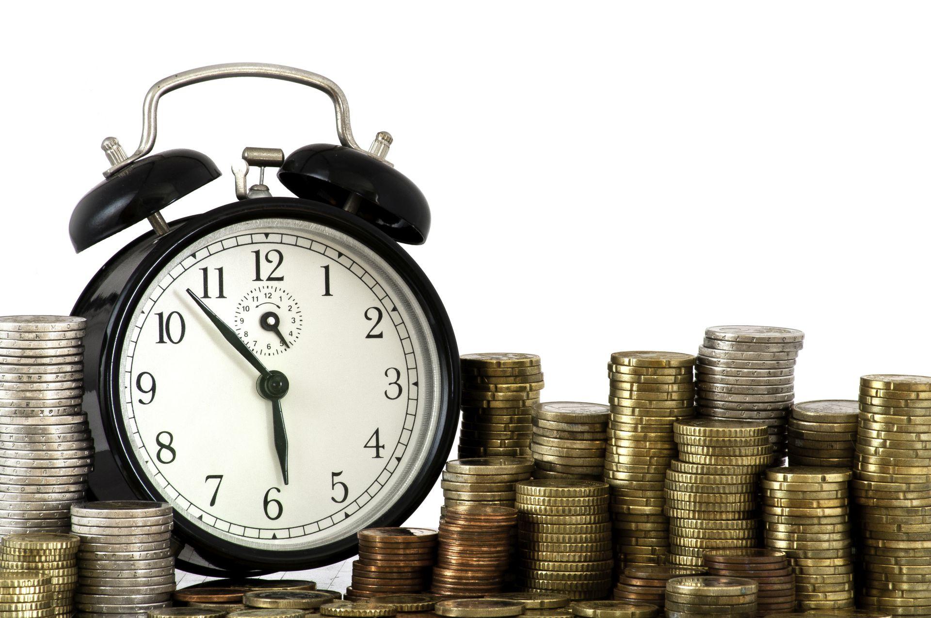 Zegarek z pieniędzmi